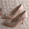 Olive Green Wedding High Heels für Bräute