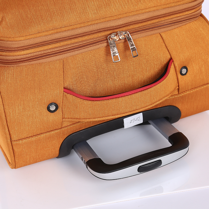 3 pieces new design lightweight soft trolley luggage 6