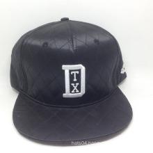 6 Panel fashion satin snapback cap