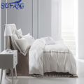 China-Lieferanten Spitzenverkaufs-ISO9001 bestätigte billiges Hotelbettwäsche-Satz, Hotelwäsche-Sätze mit vier Jahreszeiten, Hotelbettwäsche