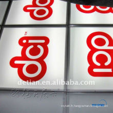 Plancher surélevé pour l'événement / plancher en aluminium résistant pour l'exposition de voiture / exposition professionnelle en verre plancher d'éclairage
