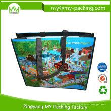 Promotion de qualité supérieure Shopping PP Woven Bag avec poignée