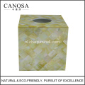 Wholesale Custom afgedrukt Tissue Box met Seashell