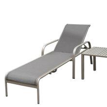 Garantía de 2 años Hotel Outdoor Sling Sun Lounger