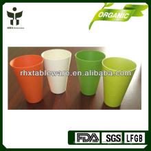 Copo de bambu biodegradável da fibra canecas