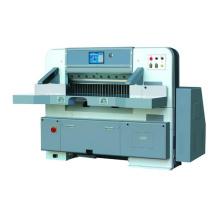 Toque em tela única hidráulica guia papel máquina de corte