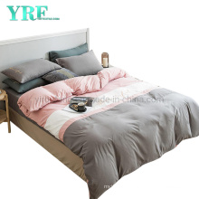 Wholesale Apartment Luxury Trendy Color Simple Style Microfiber Brushed Bedding
