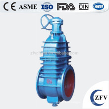 water seal double disc wcb dn100 gas gate valve