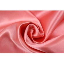Tecido clássico de seda 100% poliéster Charmeuse cetim