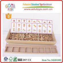 Puzzle de puzzle en bois