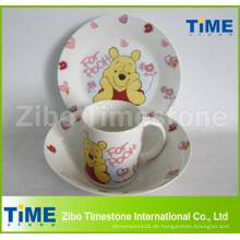 Keramik-Porzellan-Kinder-Dinner-Set