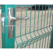 High quality galvanized pvc coating euro fence