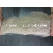 Dehaired Cashmere Fiber Brown 16.5mic 26-28mm