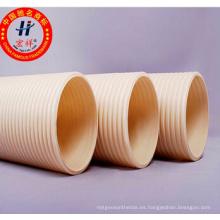 Tubo corrugado de HDPE con doble pared