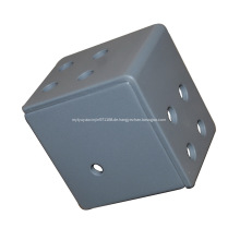 Stahl kubische 3-Wege-Eckhalterung