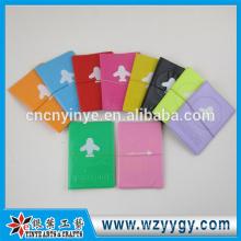 popular PU leather passport holder