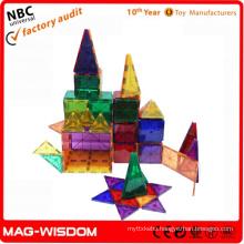 New Magnetic Tile Building Kit 100pcs