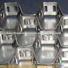 Acero al carbono 0Cr18 resistente a la calefacción Tortoise Shell Mesh (Fábrica)