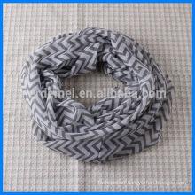 Spring/autumn print wholesale chevron scarf