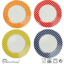 20.5cm Porcelain Salad Plate with Decal