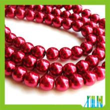 Top-Qualität Glas Perle Tschechische Runde Lose Perlen in Masse