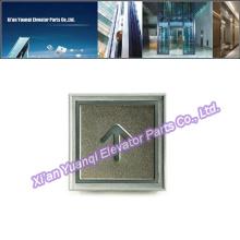 Thyssen Elevator Buttons Lift Pièces détachées Stainless Steel Thyssenkrupp Push Call Button Super Thick