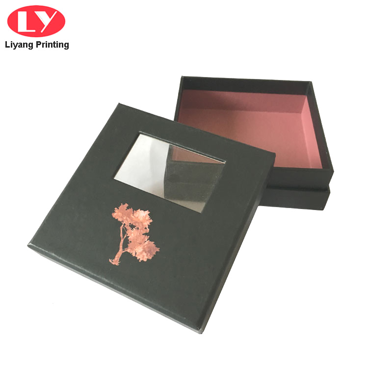 Luxury Gift Box With Clear Window