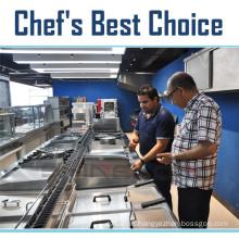 Chinese Professional Hotel Restaurant Kitchen Equipment (Chef's Best Choice)