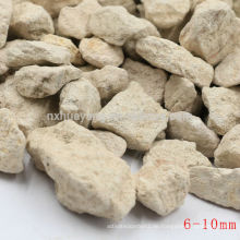 Starke Adsorption Maifanite / Maifan Stein mit 0.5-1,1-2,2-4,4-6.6-8mm