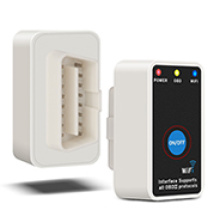 with on/off Switch WiFi Obdii Code Reader+Switch OBD Scanner OBD2 Diagnose Interface for I--Phone Android Windows