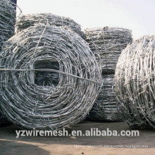 Galvanized Double Barbed Wire from wire manufacturer