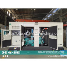 China Manufactures Automatic Start Standby Generators 300kVA Silent Diesel Geneator