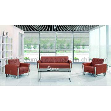 Sofá de cuero moderno de la oficina del sofá para la venta (DX519)