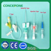 IV cánula hecha en China