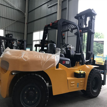 10 ton forklift diesel untuk lifting container
