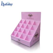 Support de bonbon de papier, magasin support d'affichage de compteur de bonbons au détail de papier