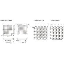 1,9 polegadas, 4,8 mm DOT (GNM-19881Cx-Dx)