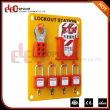 Elecpopular marca de alta calidad portátiles de vidrio amarillo de seguridad ecológica bloqueo estaciones