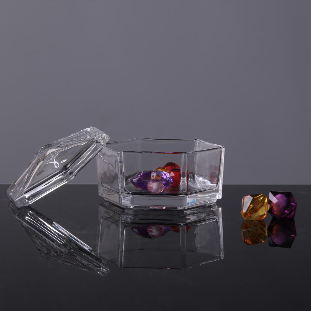 Br 1745hexagon Transparency Container Box Jar For Candy Jewelry