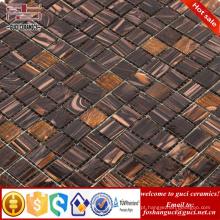 telha de mosaico barato misturou telhas de mosaico quentes do assoalho e da parede do derretimento