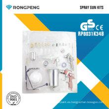 Rongpeng R8031k34b 34PCS Kits de pistola de pulverización de aire