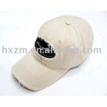 design whilesale embroidery cotton baseball cap washer