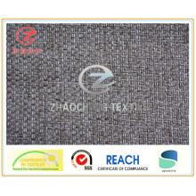 Tissu de canapé 100% poly dimity collé (ZCCF054)