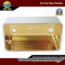 CNC-Messingteile, die CNC-Rahmen für die verwendeten elektrischen Komponenten maschinell bearbeiten