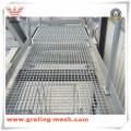 Решетка из оцинкованной стали / металлический стержень для платформы