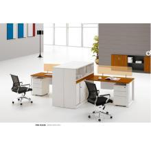 Système modulaire de bureau moderne d'agent de bureau avec le stockage