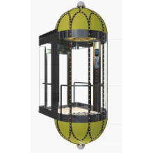 Panoramic Elevator Machine Roomless