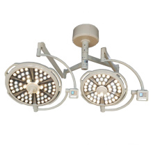 MT Medical Hospital Equipment Double dome ceiling mounted LED light surgical operating Lamp in operation theatre room