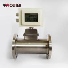 sensor de medidor de flujo de gas natural de aire de masa de propano de butano alimentado a batería