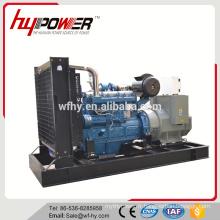Générateur 340KW Alimenté par Wudong Engine
